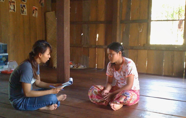 Neth conducting a survey in K.Thom